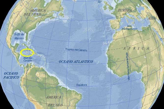 cartina jamaica  u2013 tomveelers